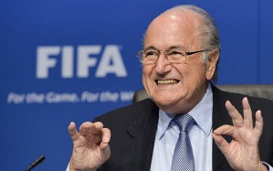 FIFA President Sepp Blatter/Photo: AFP