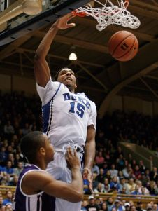 Jahlil Okafor of Duke should be the number one pick in Junes draft. (Photo: Mark Dolejs, USA TODAY Sports)