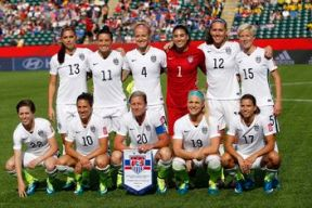 USWNT before their quarterfinal match against China. (Photo: Michael Chow/USA TODAY Sports)