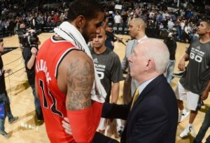 Aldridge joining the Spurs next season is a scary thought for Western Conference foes. (Getty Images)