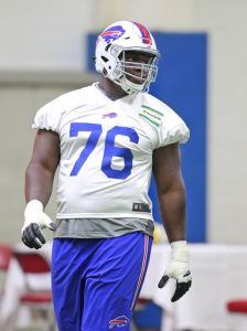 Rookie G John Miller is expected to start opening day (AP File Photo)