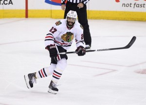 Johnny Oduya is fresh off a cup and ready to cash in (Marianne Helm/Getty Images)