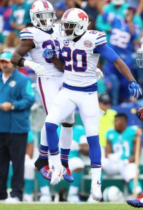 Corey Graham (20) looks at home in his new role as safety (Vaughn Ridley/Getty Images)