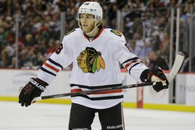 Patrick Kane is under investigation after being accused of raping a woman (Ann Heisenfelt/AP)
