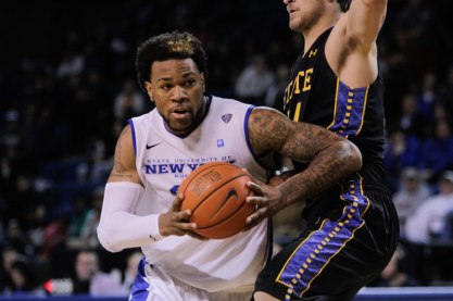 A recent incident involving UB star Justin Moss has some fans wondering about some of the players entering the program (Rushthecourt.com)