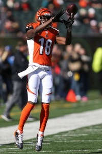 AJ Green will look to continue to pile up the yards against the Steelers. (Getty Images)