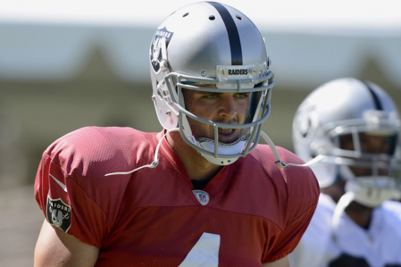 Carr has the poise and commands respect, will it translate onto the field? (Getty Images)