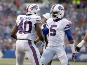 Karlos Williams was impressive in his first action as a Buffalo Bill in preseason game 1. (sportspyder.com)