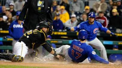 The Cubs and Pirates seem destined to meet in the NL Wild Card Game. (Gene J Puskar/AP)
