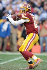 Whether RGIII can return to his pre-injury form will determine how the Bills do in Week 15 (Mitchell Layton/Getty Images)