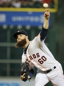 The arm of Dallas Keuchel leads a balanced Astros team. (Scott Halleran/Getty Images)