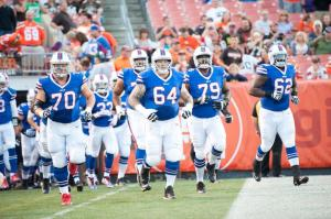Through two games the offensive line has looked improved. (BuffaloBills.com)