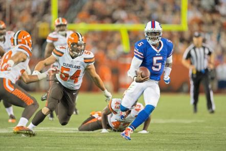 Tyrod Taylor is trying to run away with the starting QB job (BuffaloBills.com)
