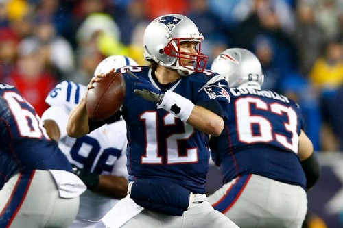 You may want to consider Tom Brady in your DraftKings lineup this week. (Getty Images)