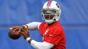 Tyrod Taylor has been named the starting QB of the Bills for week 1. (Bill Wippert/AP Photo)