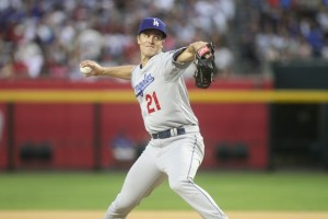 The Dodgers will lean heavily on the dominant duo of Clayton Kershaw and Zack Greinke (above) (Jason Wise/Getty Images)