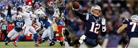 Tyrod Taylor leads the Bills into his first game against Tom Brady and the rival Patriots.