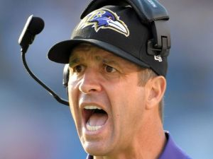 John Harbaugh hails from Toledo. Because of course. (Photo via USAToday)