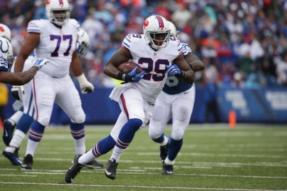 Karlos Williams had a great mix of power and speed on Sunday (Getty Images)