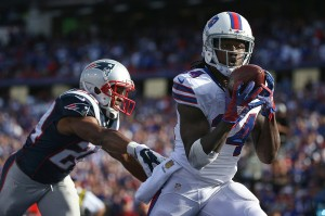 A late touchdown from Sammy Watkins made the Pats sweat at the end of the game (Getty Images)