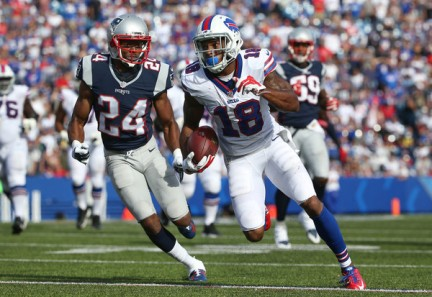The Bills weren't able to out run the Patriots yet again. (Getty Images)