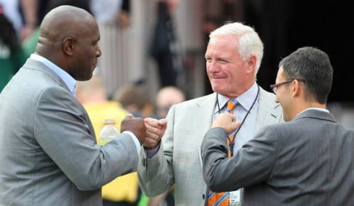 Ray Farmer, Jimmy Haslam and Alec Scheiner (photo from NEOMG)