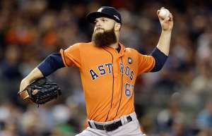 Dallas Keuchel pitches one of the most important games of his young career Photo Credit: Adam Hunger USA Today Sports