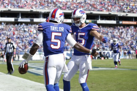 Celebrate Bills fans: Your team escaped Tennessee with a win (Getty Images)
