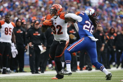 The Bengals kept the Bills at arms length all day Sunday (Getty Images)