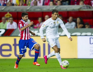 Cristiano Ronaldo has dominated the Spanish League playing this style (Getty Images)