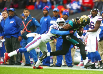 The Bills couldn't stop the Jags when it mattered (Getty Images)