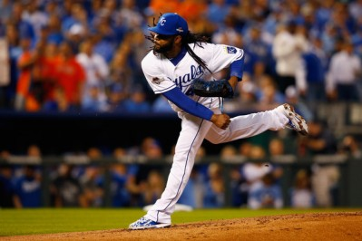 How will Johnny Cueto and the Royals pitching staff handle the Blue Jays firepower? (Getty Images)