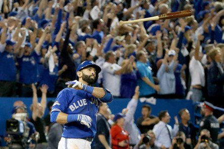 Jose Bautista hit the biggest home run of his life (Getty Images)