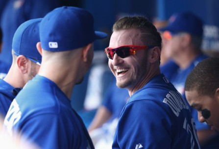 Josh Donaldson and the Blue Jays are all smiles heading into their first postseason in two decade. (Getty Images)