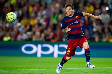 Lionel Messi is the perfect example of the inverted winger (Getty Images)