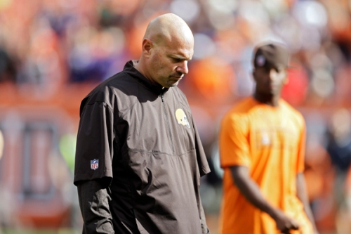 Mike Pettine adds another gut-punching loss to his resume. (AP Photo)