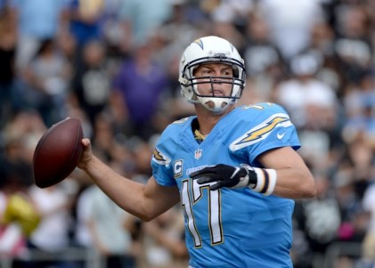 Philip Rivers and the Chargers somehow find themselves at 2-5. (Getty Images)