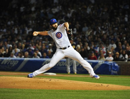 Jake Arrieta will try to translate a dominate end of the season to take his team to the World Series (Getty Images)