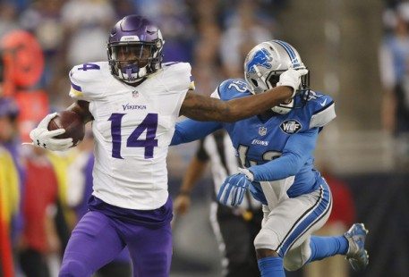 Stefon Diggs and the Vikings find themselves in a Wild Card spot (Getty Images)