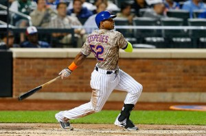 Yoenis Cespedes and the Mets are having a Cinderella season. (Getty Images)