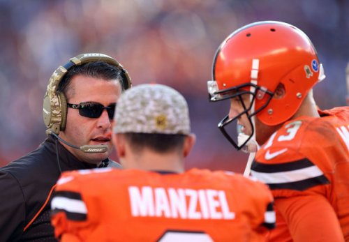 Johnny Manziel can't get out of the shadows (NEOMG Photo)