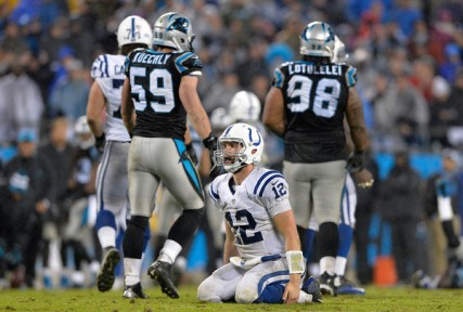 Andrew Luck and the Colts: 27th in the Power Rankings. 1st in the AFC South. (Getty Images)