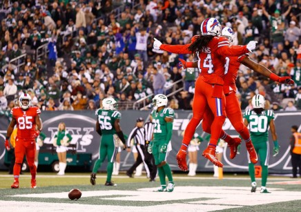 The Bills were able to get the job done on Thursday night. (Getty Images)