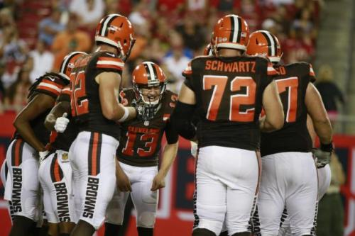 The Browns' offensive line has taken a step back (Bleacher Report)