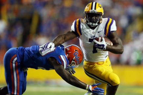 Leonard Fournette and LSU have been running over SEC defenses (Getty Images)
