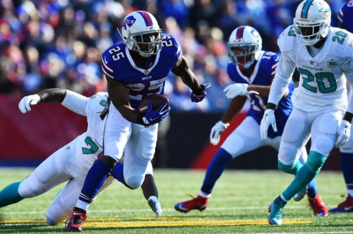 The Dolphins couldn't do anything to stop Shady McCoy and the Bills offense on Sunday (Getty Images)