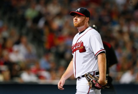 Former Braves pitcher Tommy Hanson recently passed away at the far too young age of 29. (Getty Images)