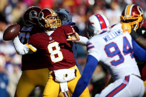 Kirk Cousins could help further bury the Packers with a win this week. (Getty Images)