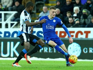 Vardy plays with an surprising pace. (Getty Images)