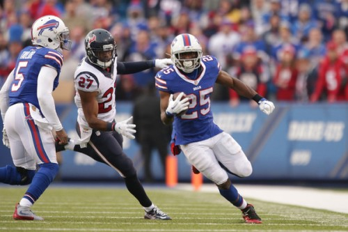A rejuvenated Shady McCoy may lead your DraftKings line up to victory. (Getty Images)